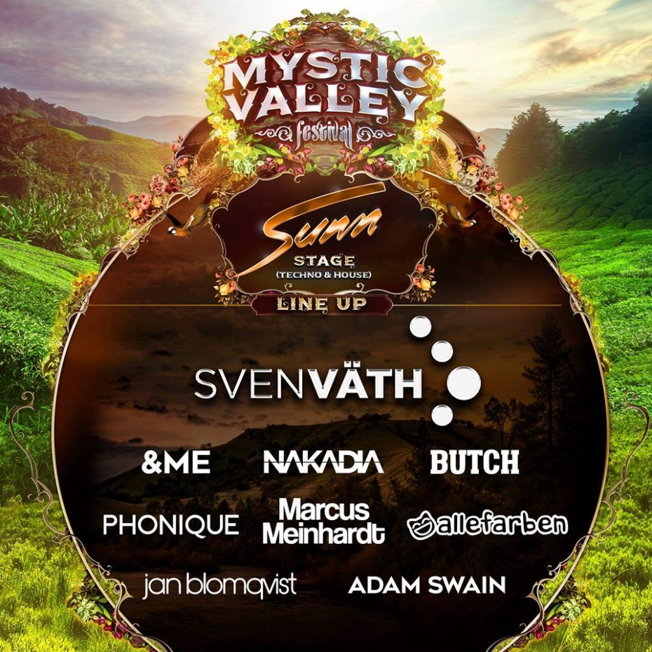 Nakadia and Sven Vath - Mystic Valley (1)